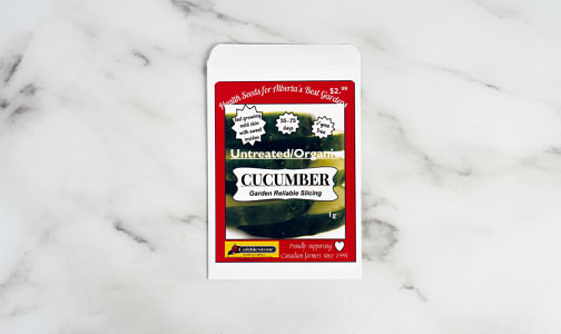 Cucumber Gardern Reliable, Slicing, Seed- Code#: PC5063