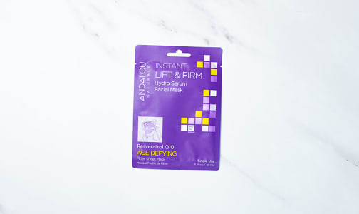Organic Instant Lift and Firm Facial Sheet Mask- Code#: PC5131