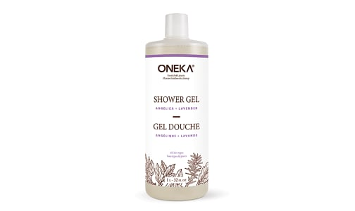 Angelica and  Lavender Shower Gel- Code#: PC5147