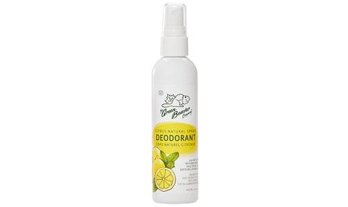 Natural Deodorant Spray Citrus- Code#: PC5234