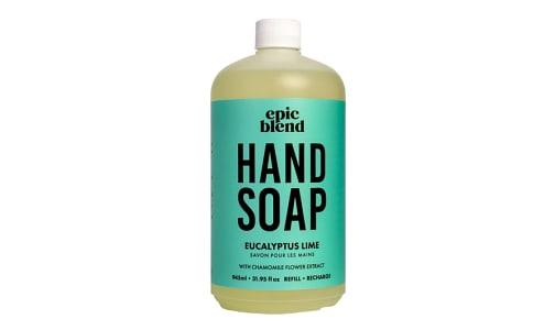 Hand Soap - Eucalyptus Lime- Code#: PC5446