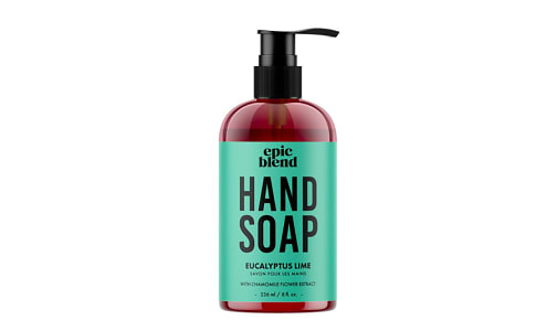 Hand Soap - Eucalyptus Lime- Code#: PC5450