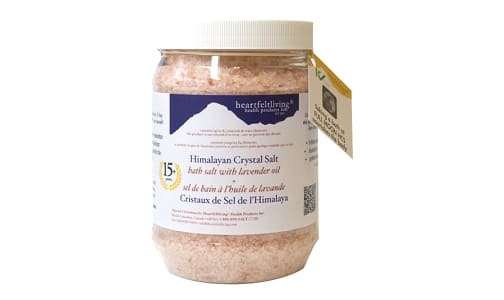 Crystal Bath Salts - Lavender- Code#: PC5787