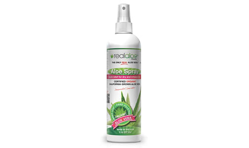 Organic Aloe Vera Spray- Code#: PC5797