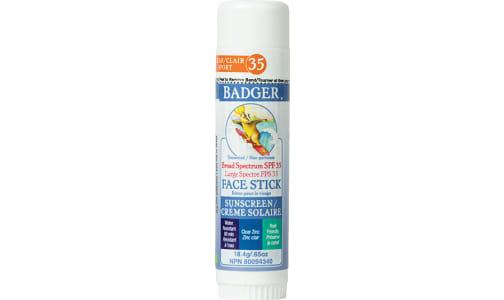 Organic SPF 35 Clear Zinc Face Stick- Code#: PC5819