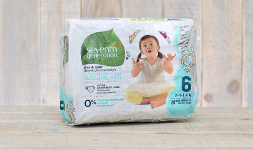 Disposable Diapers (Stage 6) 16+ kg, 35+ lbs- Code#: PC666