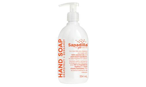 Liquid Hand Soap - Grapefruit & Bergamot- Code#: PC960
