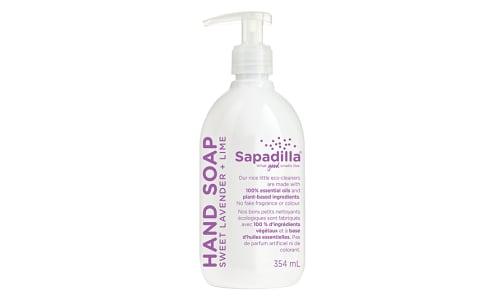 Liquid Hand Soap - Sweet Lavender & Lime- Code#: PC962