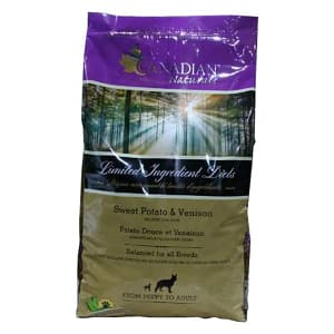 Grain Free Venison & Sweet Potato Dog Food- Code#: PD003
