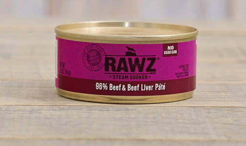 Beef & Beef Liver Pate Cat Food- Code#: PD0166