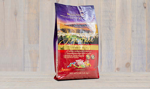 Dry Dog Food Lamb- Code#: PD0189