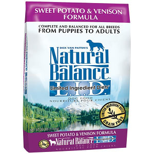 Limited Ingredient Diet - Venison & Sweet Potato Dog Formula- Code#: PD025