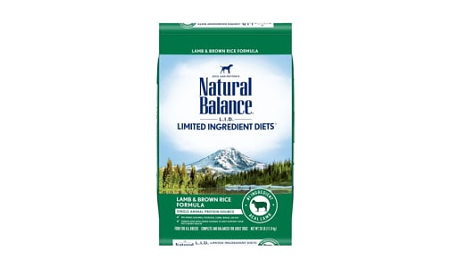 Limited Ingredient Diet - Lamb & Brown Rice Dog Formula- Code#: PD027