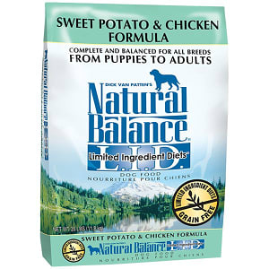 Limited Ingredient Diet - Chicken & Sweet Potato Dog Formula- Code#: PD030