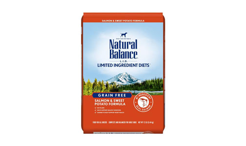 Limited Ingredient Diet - Fish & Sweet Potato Dog Formula- Code#: PD031