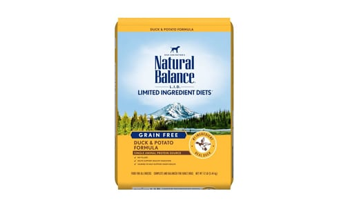 Limited Ingredient Diet - Duck & Potato Dog Formula- Code#: PD033