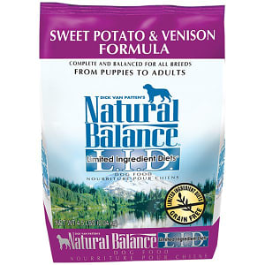 Limited Ingredient Diet - Venison & Sweet Potato Dog Formula- Code#: PD037