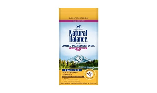 Limited Ingredient Diets - Duck & Potato Formula for Small Breeds- Code#: PD042
