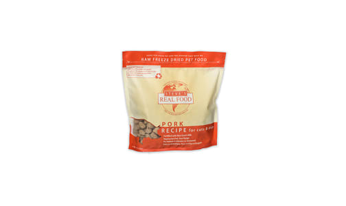 Freeze-Dried Raw Pork Dinner For Dogs- Code#: PD069
