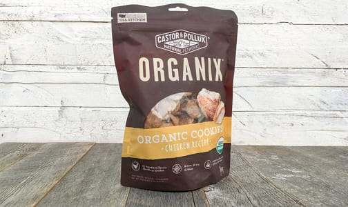 Organic Chicken Dog Cookies- Code#: PE0026