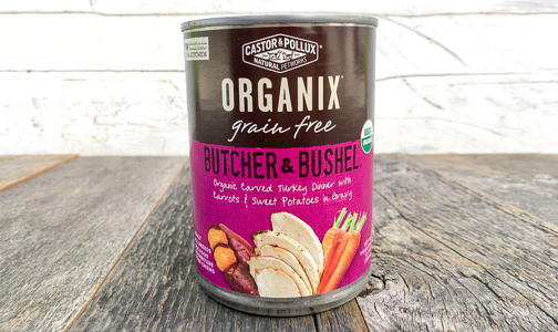Organic Canned Turkey Dinner- Code#: PE0043