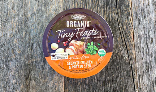 Organic Canned Chicken Potato Dog Food- Code#: PE0045