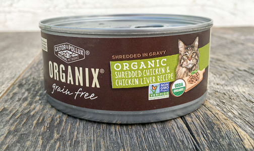 Organic Canned Chicken Liver Cat Food- Code#: PE0049