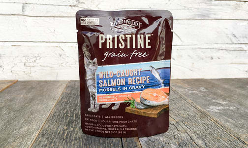 Salmon Cat Food Pouch- Code#: PE0050
