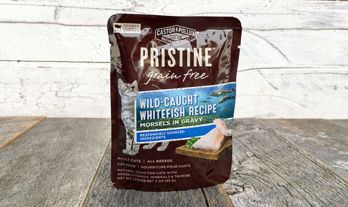 Whitefish Cat Food Pouch- Code#: PE0051