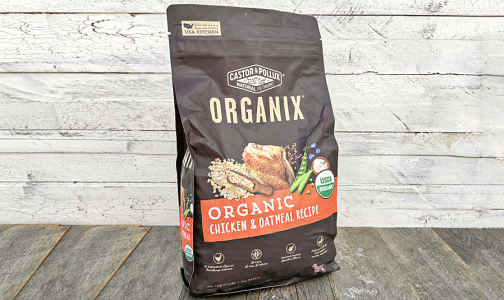 Organic Chicken and Oatmeal Dry Dog Food- Code#: PE0054