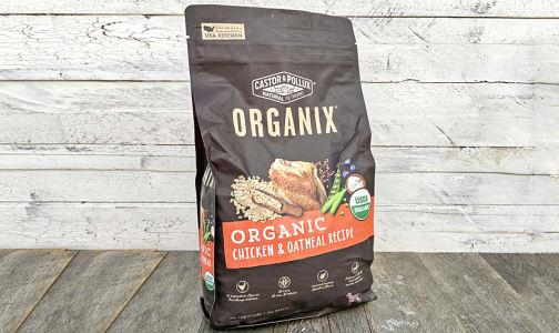 Organic Chicken and Oatmeal Dry Dog Food- Code#: PE0054