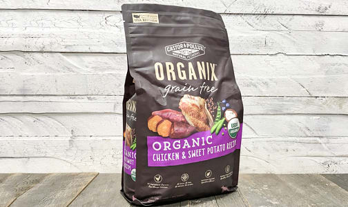 Organic Chicken & Sweet Potato Dry Dog Food- Code#: PE0056