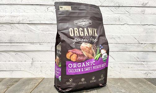 Organic Chicken & Sweet Potato Dry Dog Food- Code#: PE0056