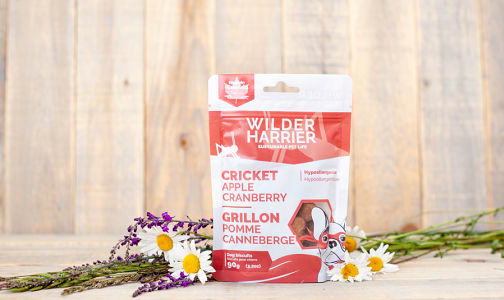 Apple Cranberry Cricket Dog Biscuits- Code#: PE0057