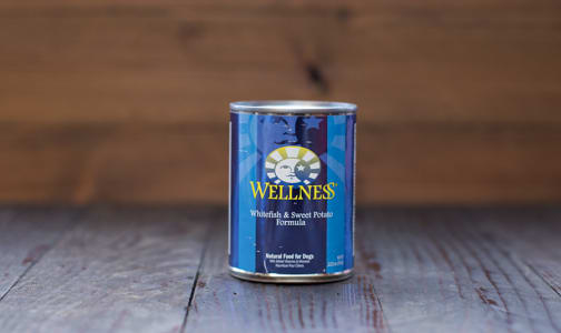 Whitefish & Sweet Potato Canned Dog Food- Code#: PE006