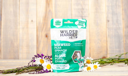 Pear Spinach Seaweed Vegan Dog Biscuits- Code#: PE0106