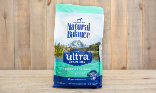 Ultra Premium Dog Food  - Grain Free- Code#: PE030