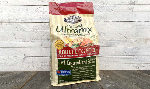 Natural Ultramix Adult Dog Food- Code#: PE304