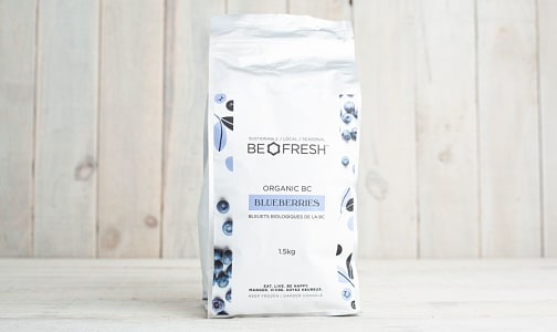 Organic BC Blueberries (Frozen)- Code#: PL0057