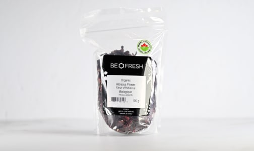 Organic Hibiscus Flower, Whole- Code#: PL0083