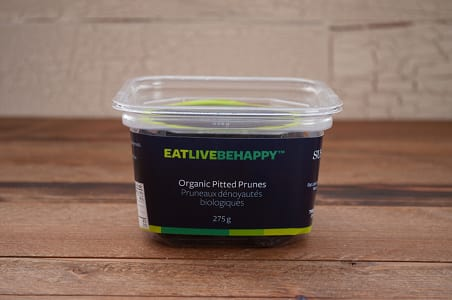 Organic Dried Pitted Prunes- Code#: PL012