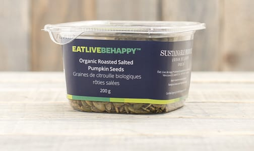 Organic Roasted & Salted Pumpkin Seeds- Code#: PL050