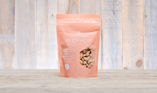 Organic Whole Salted & Roasted Cashews- Code#: PL313