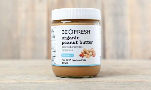 Organic Peanut Butter, Crunchy- Code#: PL4001