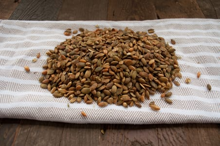 Organic Pumpkin Seeds - Roasted & Salted- Code#: PL508