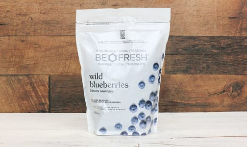 Be Fresh Frozen Wild Blueberries (Frozen)- Code#: PL6650