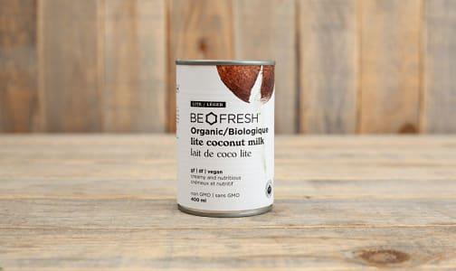 Organic Be Fresh - Organic Lite Coconut Milk- Code#: PL8881