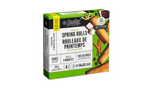 Gluten Free Original Spring Rolls (Frozen)- Code#: PM0073