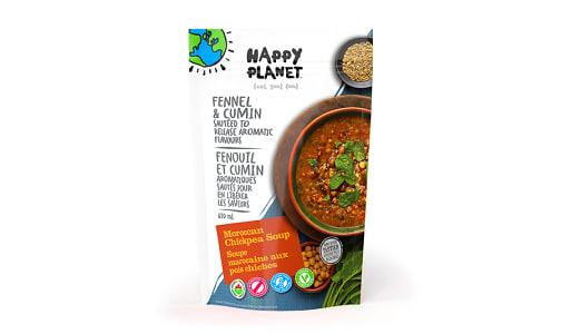 Organic Moroccan Chickpea Soup- Code#: PM012