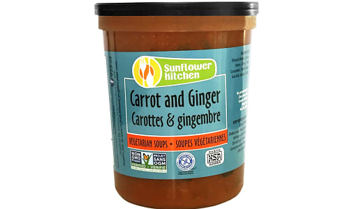 Carrot & Ginger Soup- Code#: PM0335
